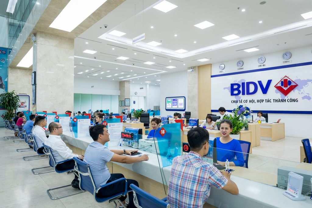 Foreign currency trading - BIDV